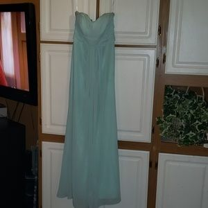 Bridesmaid dress Sz 4 blue